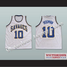 60b350b88e4 Minanser Dennis Rodman Southeast Oklahoma College Basketball Jersey All  Sizes Men(China)