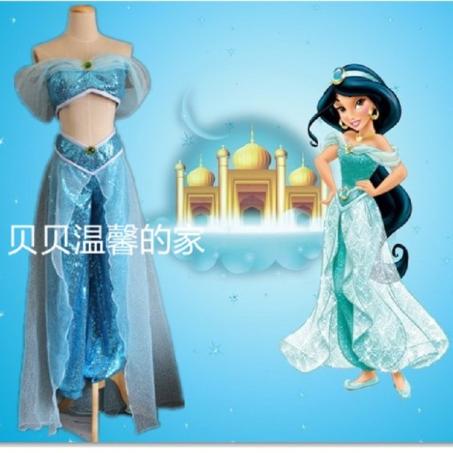 genie Sexy princess jasmine costume adults for women cosplay for kids girl aladdin enfant halloween costumes  sc 1 st  AliExpress.com & genie Sexy princess jasmine costume adults for women cosplay for ...