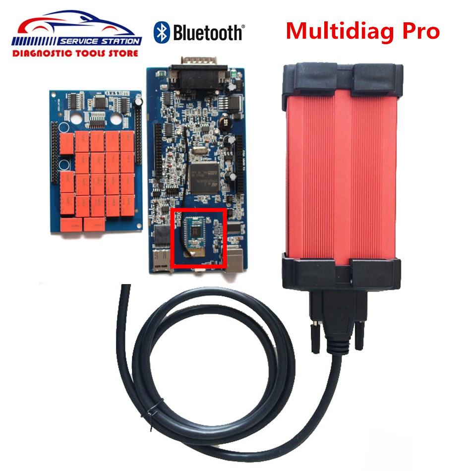 2017 Hot Selling Multidiag Pro with Bluetooth TCS CDP New Vci for cars and trucks With top quality multidiag pro new arrival new vci cdp with best chip pcb board 3 0 version vd tcs cdp pro plus bluetooth for obd2 obdii cars and trucks