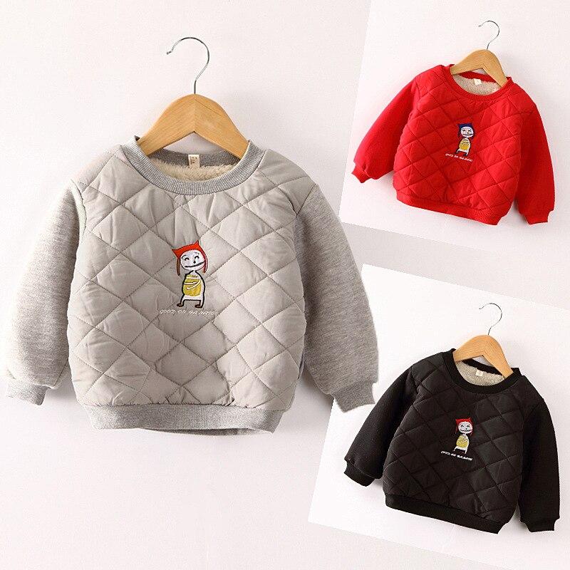 Outfits Sweater Little-Girls Children Winter Boys Autumn Kids Cartoon Fashion Casual