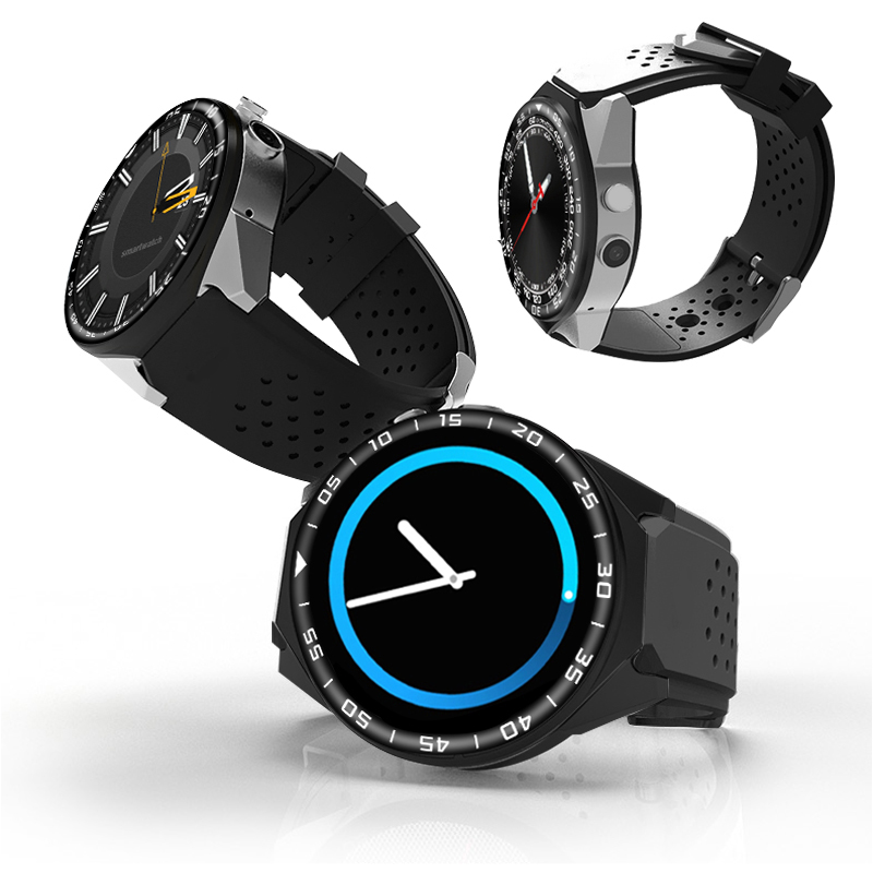 US $80 97 21% OFF|KW88 update to S99C Smart Watch 1 39 Inch MTK6580 Quad  Core 1 3GHZ Android 5 1 3G Smart Watch 2 0 Mega Pixel Heart Rate Monitor-in