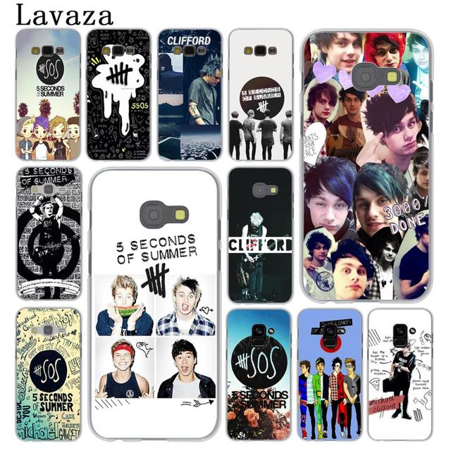 Lavaza 5 Seconds Of Summer 5sos Phone Case For Samsung Galaxy A 2016 2017 A6 A Note 9 8 Grand Prime Cover