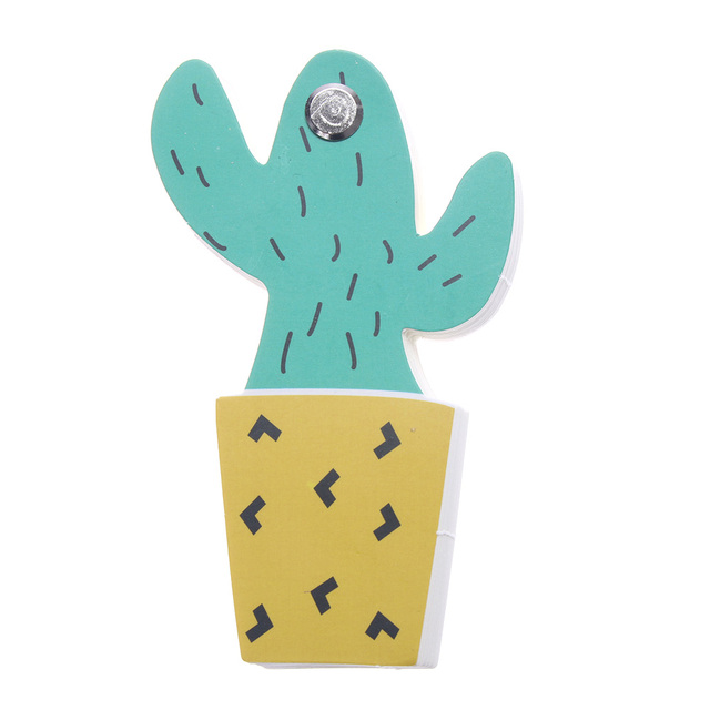 Cactus Themed Loose Leaf Memo Pad