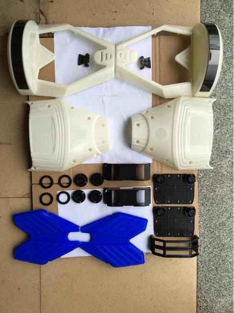 A full set of 8 inch Plastic hoverboard Shell For 2 wheel self balance Electric Scooter Hover board accessory skateboard part