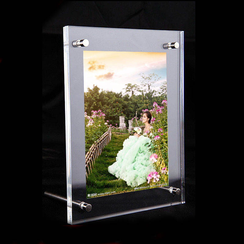 gt3161 12inch a4 desktop acrylic poster frames printing photos holder display for 12inch