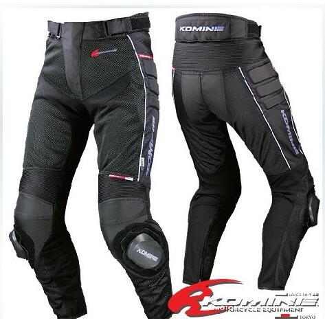 Wholesale Motocross Komine PK-708 Mesh Breathable Pants Motorcycle Riding Pants Summer Size Bn