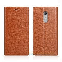 Invisible Magnet Genuine Leather Case For ZTE Xiaoxian 4 BV0701 5 2 Luxury Mobile Phone Flip
