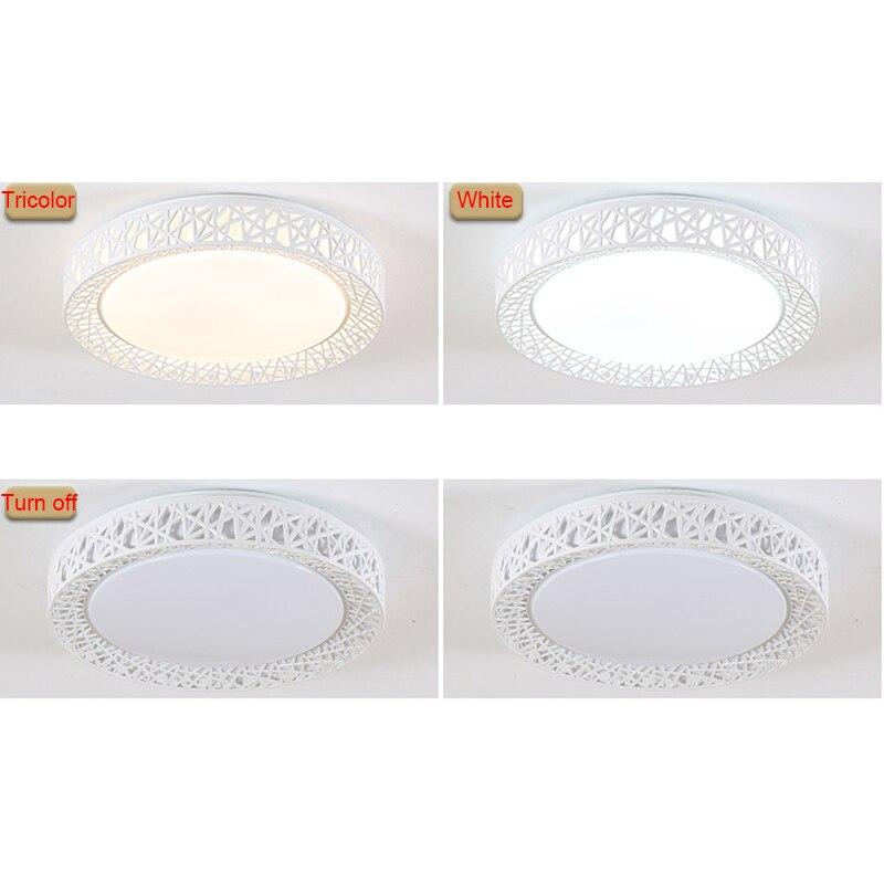 LED Ceiling Light Bird Nest Round Lamp Modern Fixtures For Living Room Bedroom Kitchen SKD88