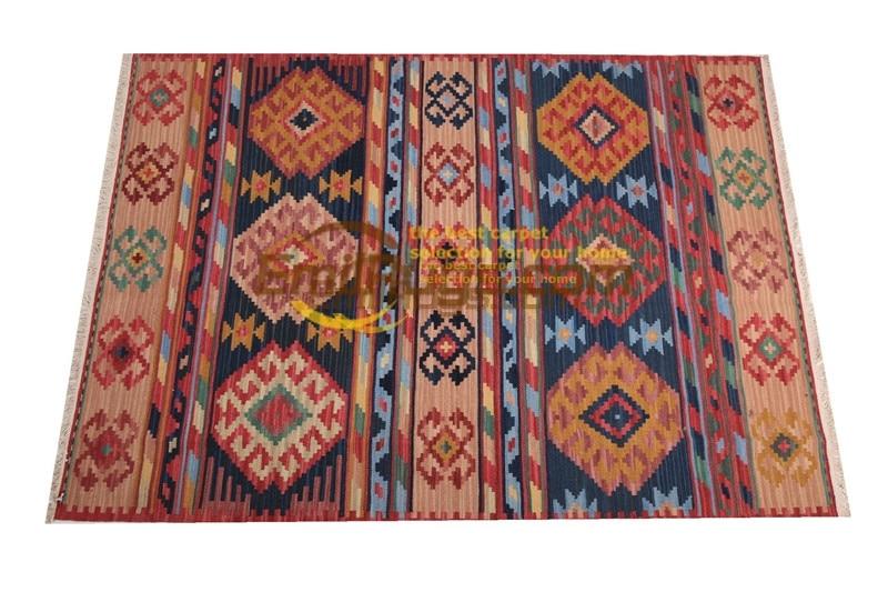 Ручная работа; вязаное; шерстяное Ковры Kilim гостиная ковер Bedroon прикроватные одеяло коридор Средиземноморский стиль fc60gc131yg4