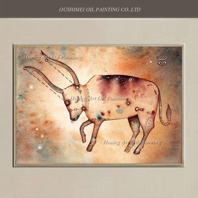 Tienda Online Al por mayor constelación Taurus pinturas abstracta ...