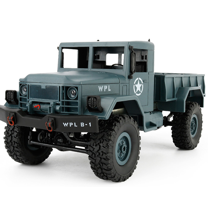 WPL B-1 1:16 Mini Off-road RC სამხედრო GAZ - დისტანციური მართვის სათამაშოები - ფოტო 1
