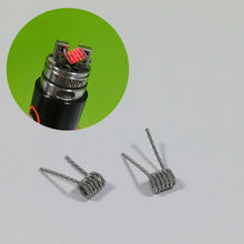 10PCS KA1 Fused Clapton Alien Mix Twisted Hive Tiger Prebuilt Premade Heating Coil Wire Electronic Cigarette RDA RTA RDTA Coil(China)
