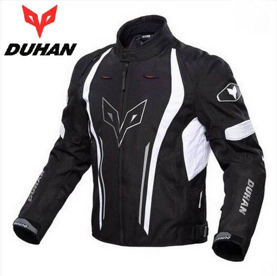 2017 nouveau DUHAN moto course costumes veste cross country moto équitation vestes imperméable à l'eau en fil texturé à l'air 600D - 2