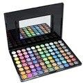 Nueva Llegada Pequeño de Sombra de Ojos Maquillaje Paleta de 88 colores de Sombra de Ojos Moda Maquillaje Sombras Con Estuche de Cosméticos Para Las Mujeres