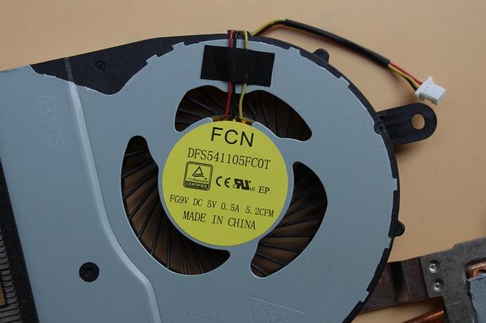 New Laptop CPU Fan For Dell Inspiron 5458 5459 5558 5559 5755 5758 fg9v fcn