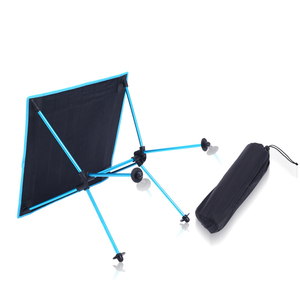 Image 5 - Outdoor picnic table camping portable aluminum folding table Oxford cloth waterproof ultra light travel desk furniture 4 color