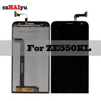 SZHAIYU 1920x1080 5.5'' LCD For Asus ZenFone 2 Laser ZE550KL Z00LD LCD Display Touch Screen Digitizer Panel Sensor