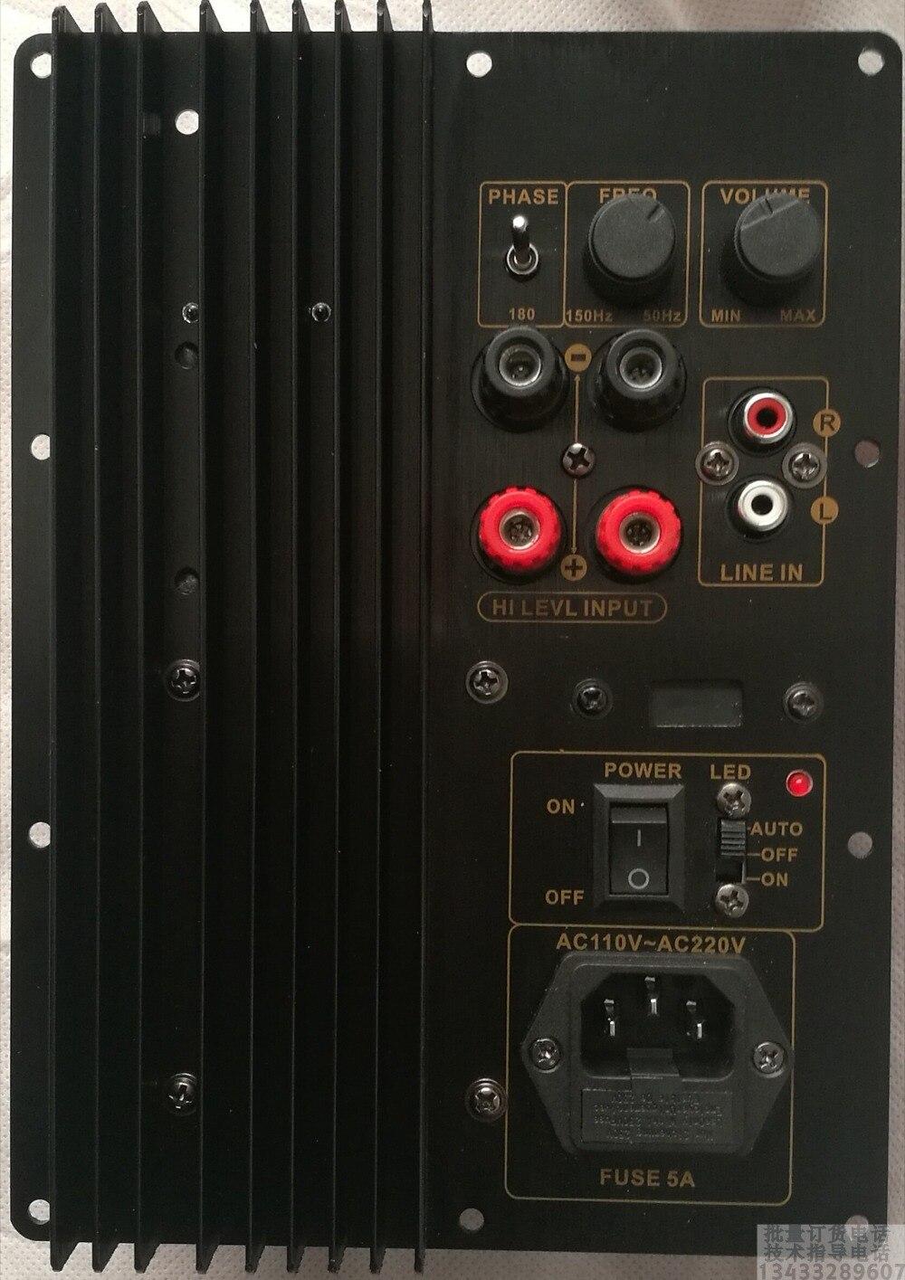 Carte d'amplificateur de caisson de basses 280 W