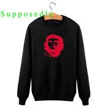 NOVO Che Guevara Impresso Moletom Com Capuz Homens Mulheres Pullover Hoodies  outono o-pescoço Roupas Argentina Argentina Herói S.. 8dfde721166