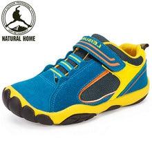 [NaturalHome] Niños Zapatilla de Deporte de Cuero de la Marca 2016 de Primavera y Verano Transpirable Zapatos de Deporte Zapatillas de Deporte