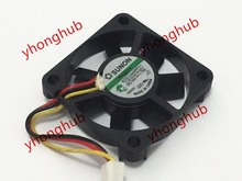 SUNON KDE1245PFV1 11.MS.B1524.AF.GN.X DC 12V 1.7W 45x45x10mm Server Cooler Fan 3-Wire sunon pmd1204ppb1 a 2 gn dc 12v 16 8w 40x40x56mm 4 wire server square fan