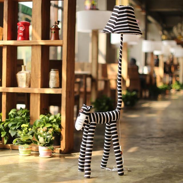 Free shipping handmade fabric cartoon E27 Floor lamp fashion gift living room child's room bedside light1088