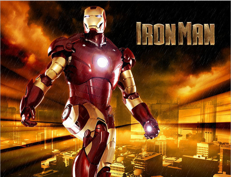 Halloween Musical Child Iron Man Clothing Festival Cosplay Performance Clothing Child Birthday Gift Clothes