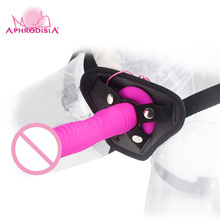 APHRODISIA 7 Speeds And 7 Rotation Speeds Vibrator Sex Toys For Woman Big Dildo Realistic Silicone G-Point Waterproof Vibrating