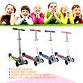 2015 nueva llegada de Tres ruedas scooter de Equilibrio scooter Plegable tamaño 2-12 años de edad Los Niños de Seguridad Ajustable Altura