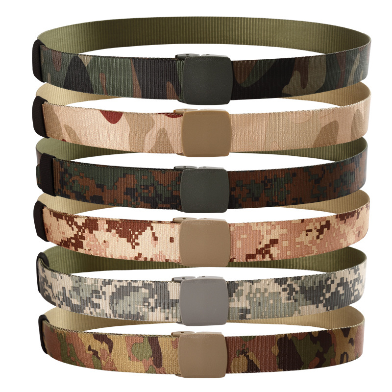 Tactical Belt Mens Army Military Waist Belts Canvas Belts Automatic Buckle Nylon Belt Male Adjustable Cummerbunds Ceinture
