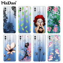For Huawei Honor 10 lite case honor Lite silicone cover Soft TPU painting Phone cases back