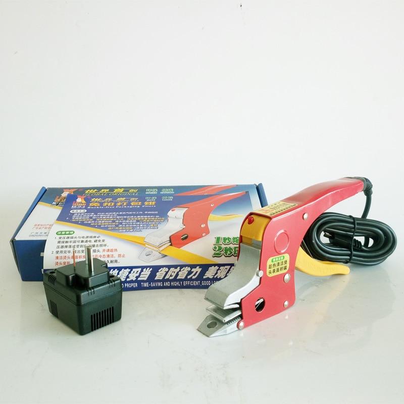 Elektrisch omsnoeringsapparaat handmatige sealless-banden - Lasapparatuur - Foto 3