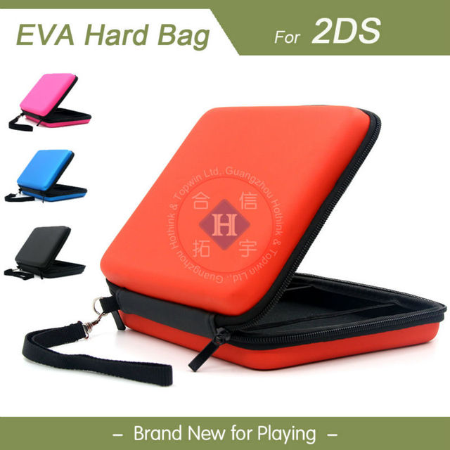 Hothink 4 Colors To Choose Airform Cases Hard Bag Eva Pouch Protective Case For Nintendo 2ds