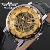 Steampunk Men S Watch Mechanical Luxury Brand Skeleton Watches Transparent Male Watch Blue Gold Colorful Watches