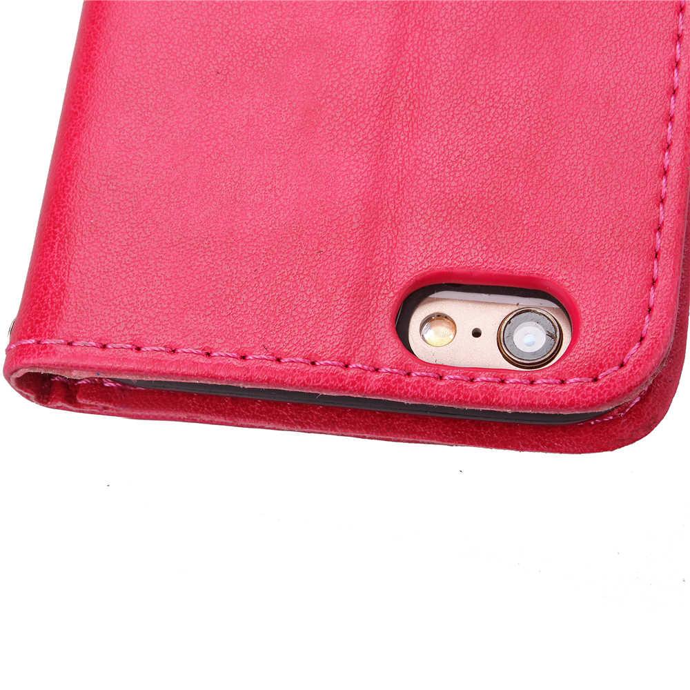 Funda Clover Cassa di Libro Per Huawei Ascend G7 L01 L03 C199 Cuoio DELL'UNITÀ di elaborazione Della Copertura Luxry Vibrazione Capa Telefono Cellulare Accessorie Capa