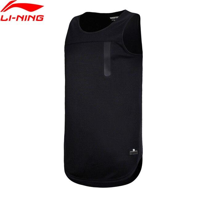 Li Ning Men Bad Five Basketball Vest Sleeveless T Shirt Regular Fit