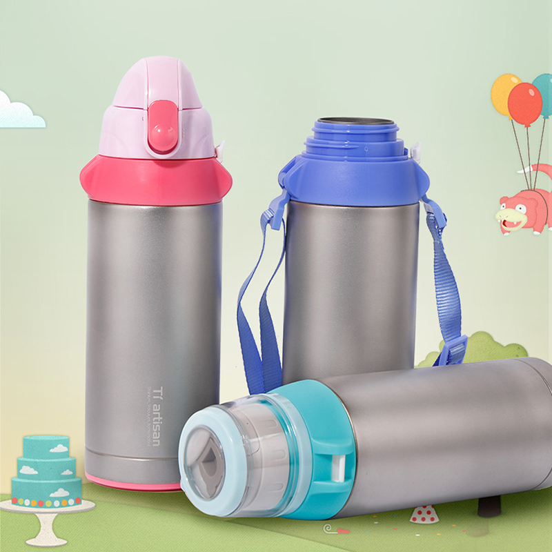 Tiartisan Titanium Healthy Vacuum Thermos Cup 600ml Outdoor Drinking Bottle Keep Water Hot or Cold for Long Time Ta8400Tiartisan Titanium Healthy Vacuum Thermos Cup 600ml Outdoor Drinking Bottle Keep Water Hot or Cold for Long Time Ta8400