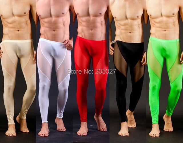 Freeshipping Men Sexy Long Johns Men Long Underwears Sexy Men Pants