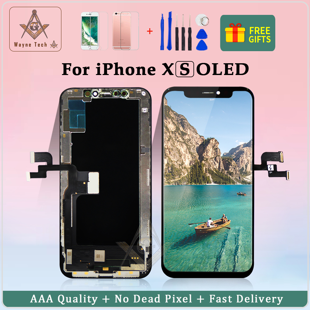 AAA OLED Quality LCD Display Screen For IPhone X 10 5.8