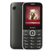 Original IPRO Phone I324F 2.4 Inch Elders Unlocked Mobile Phone Celular English/Spanish/Russian MP3 GSM Dual SIM Cheap cellphone