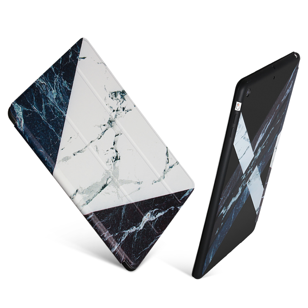 For ipad 2 Case, GOLP Smart Cover For ipad 3, Marble Pattern Flip case for ipad air 2 , Soft TPU cover for ipad 4 for ipad mini4 cover high quality soft tpu rubber back case for ipad mini 4 silicone back cover semi transparent case shell skin