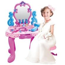 New simulation pretend play children s little princess educational toys girls dresser set gift toys