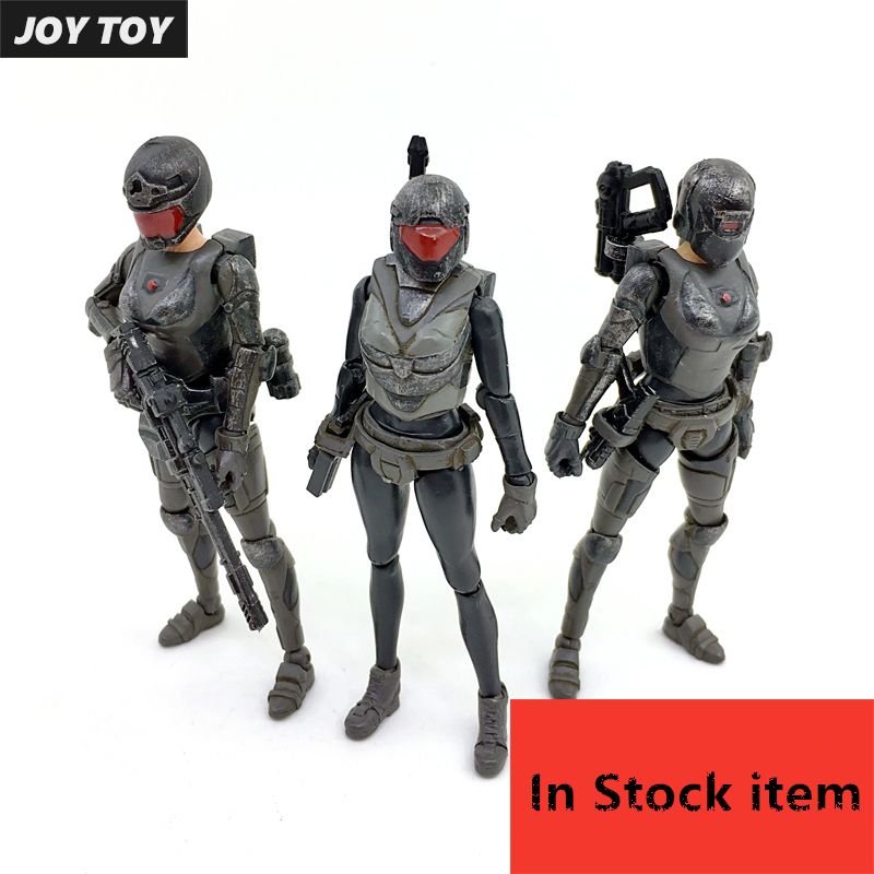 JOY TOY 1:27 Model kits soldier figure 1/27 female soldier(3pcs/lot) Free Shipping free soldier черный маленький