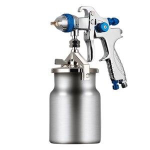 Image 4 - FUJIWARA 206 Paint Spray Gun HLVP High Atomizing Pneumatic Spray Gun Automobile Furniture Topcoat Spray Gun Spraying Tool