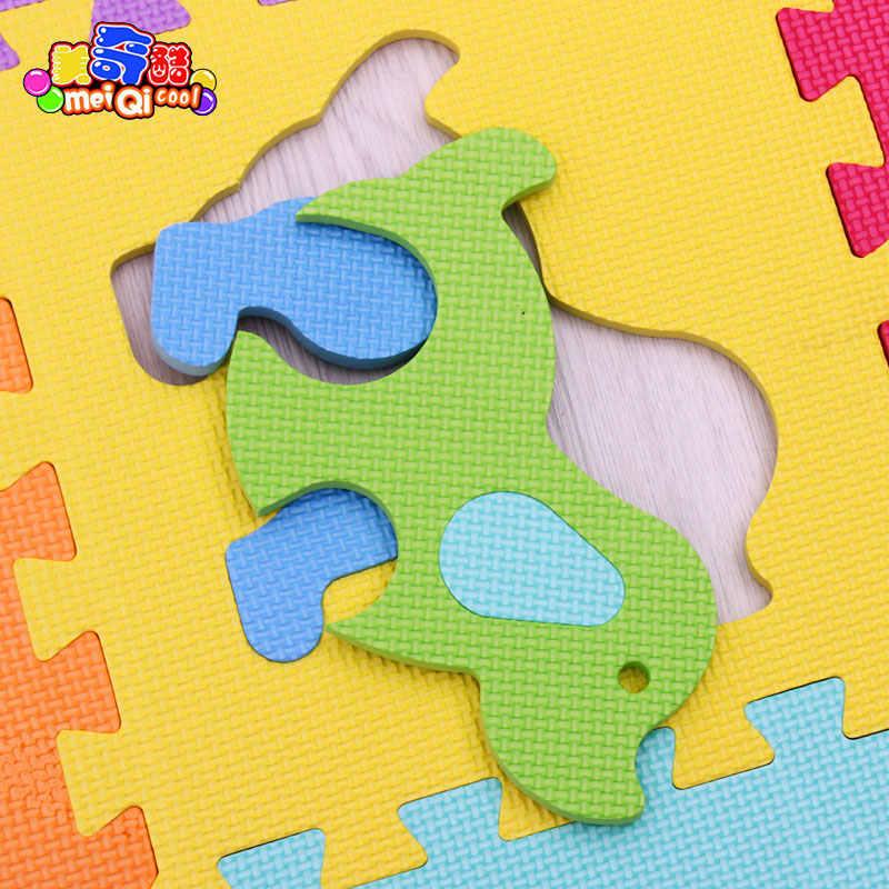 С рисунком животных из мультфильмов, игровой коврик для детей головоломка вспененный этилвинилацетат ковер детский коврик для ползания тренажерный зал детский игровой коврик коврики Mei QI Cool