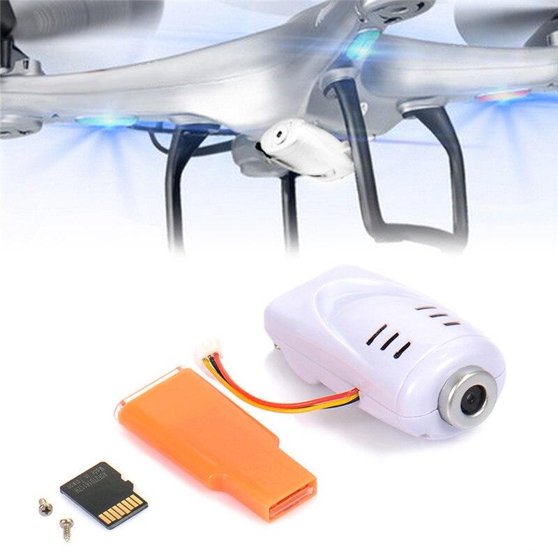 MINOCOOL Caméra Supplémentaire pour Drone SYMA X5 X5C JJRC H8C DFD F183/F182/F183 Gyro RC Quadcopter Hélicoptère drone Caméra Rc Avion