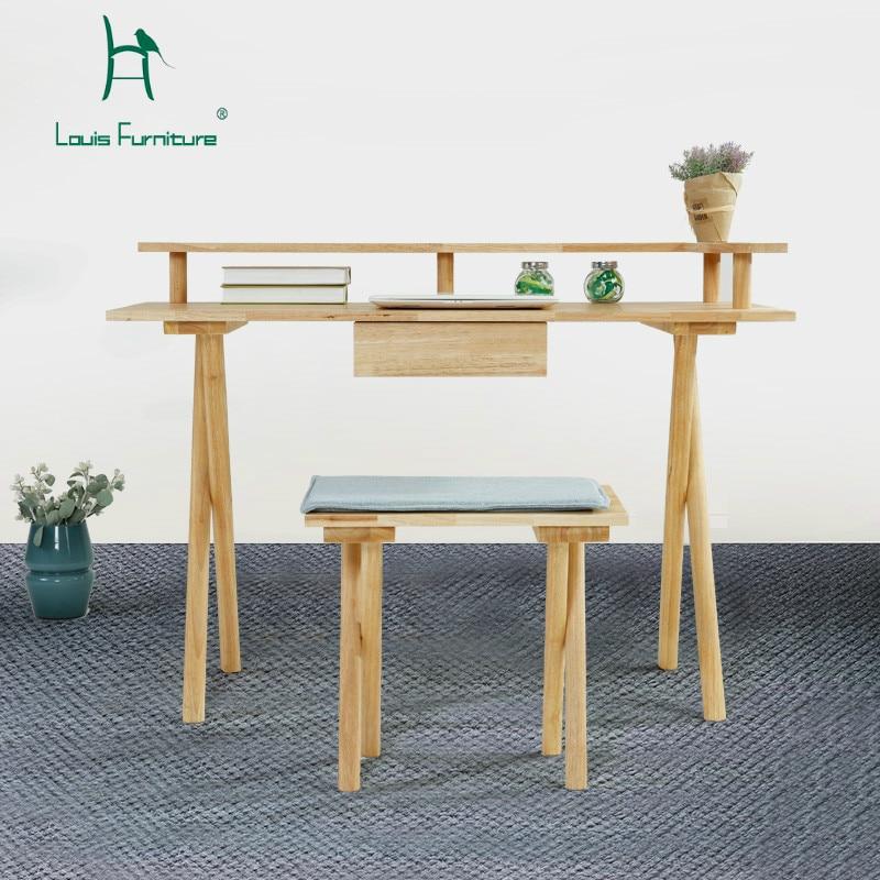Louis Fashion Computer Desks Nordic Modern Simplified ...