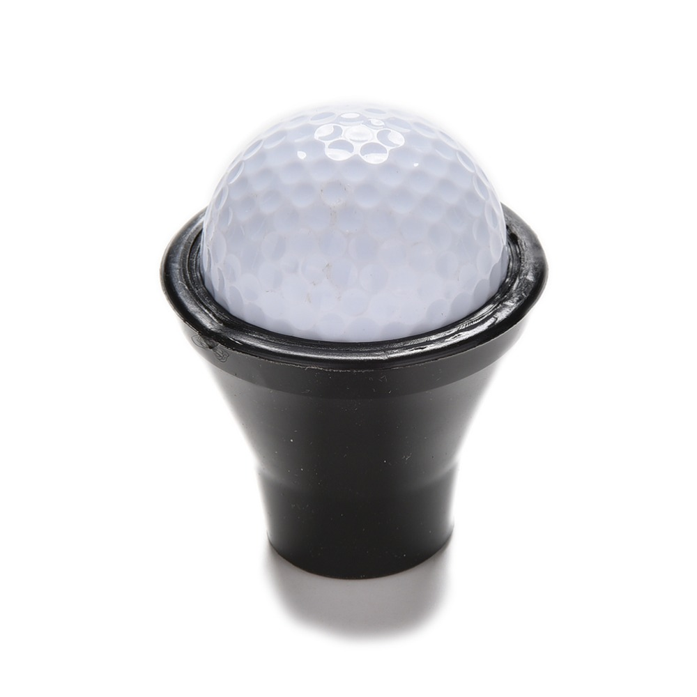 High Quality New Black Golf Putter Sucker Finger Ball Pick Up Training Aids Golf Training Accessories