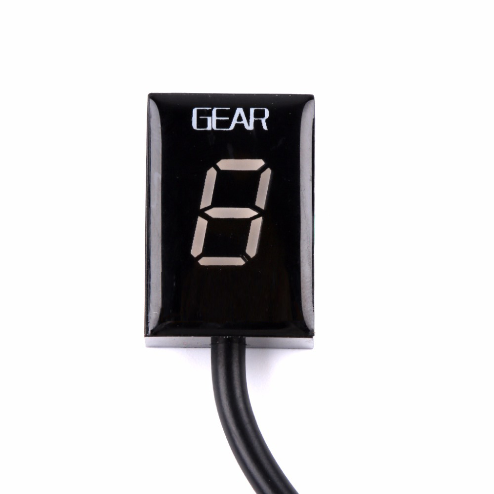 For Honda CB500X VFR 800 CB1000R CB400SF CBR650F CB600F CB650F Motorcycle 1-6 Level Ecu Plug Mount Speed Gear Display Indicator