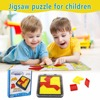 3D Jigsaw Puzzle For Children Tangram Puzzle Intelligence Kids Children Educational Toy Training Brain IQ Games